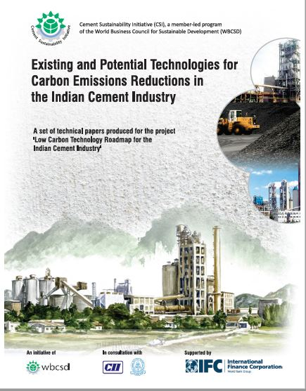 Existing and Potential Technologies for Carbon Emission Reduction in the Indian Cement Industry