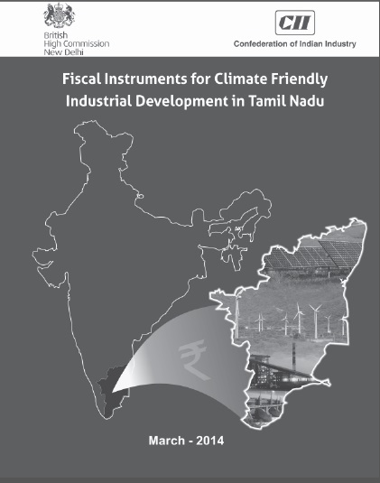 Fiscal Instruments for Climate Friendly Development in Tamil Nadu