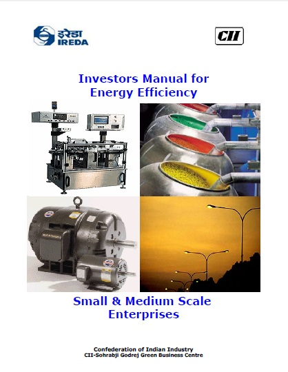 Investor Manual for Energy Efficiency in Small & Medium Scale Enterprises