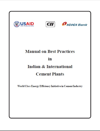 Manual on Best Practice in Indian and International Cement Plant