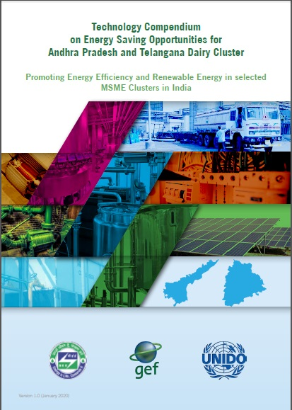 Technology Compendium on Energy Saving Opportunities in Dairy Sector - AP & Telangana