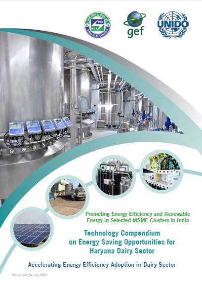 Technology Compendium on Energy Saving Opportunities in Dairy Sector - Haryana