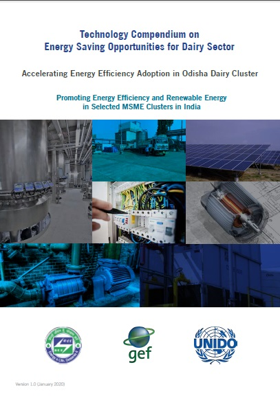 Technology Compendium on Energy Saving Opportunities in Dairy Sector - Odisha