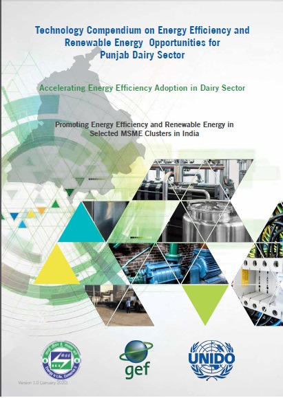 Technology Compendium on Energy Saving Opportunities in Dairy Sector - Punjab