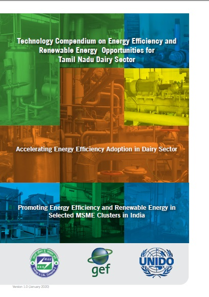 Technology Compendium on Energy Saving Opportunities in Dairy Sector - Tamil Nadu