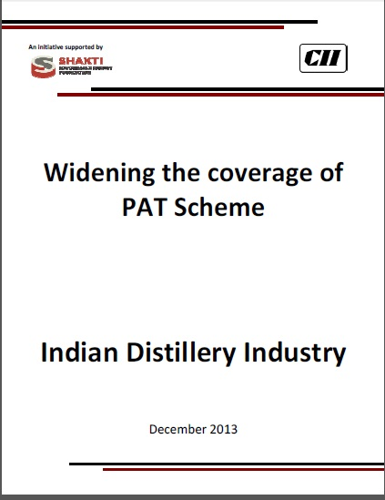 Widening of PAT Scheme - Distillery Sector