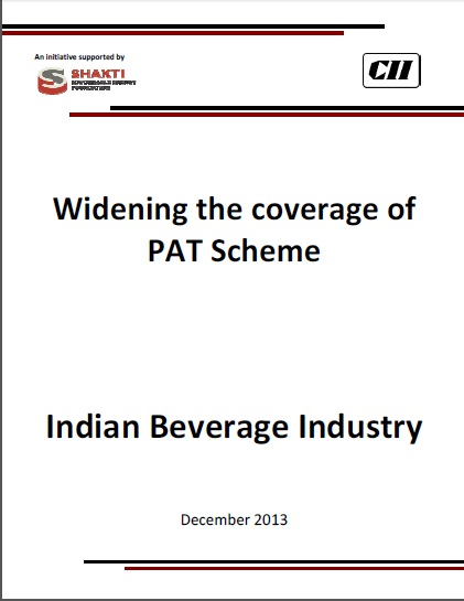 Widening of PAT Scheme - Beverage  Sector